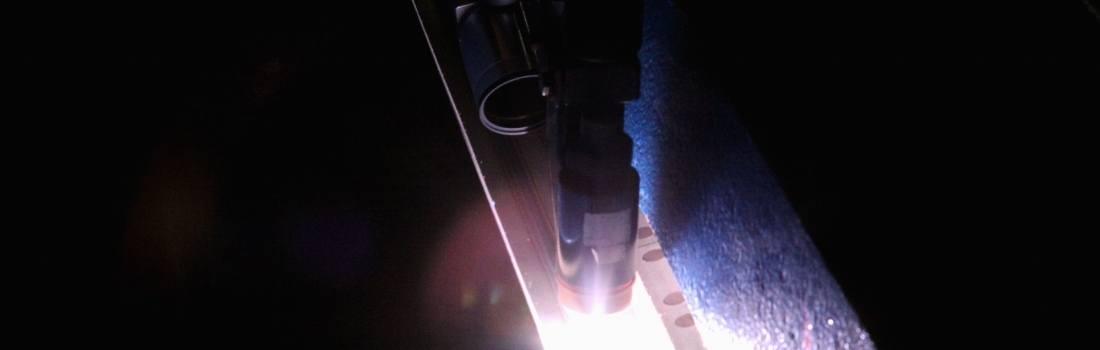 Monitoring plasma arc welding