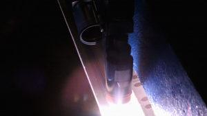 Monitoring plasma arc welding